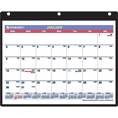 "2014 AT-A-GLANCE® Desk/Wall Calendar, 11"" x 8 1/4"""