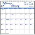 2015 AT-A-GLANCE® 12-Month Illustrator's Edition Wall Calendar, 12in. x 11 3/4in.