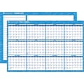 "2014 AT-A-GLANCE® Horizontal Erasable Wall Planner, 48"" x 32"""
