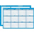 2014 AT-A-GLANCE® Horizontal Erasable Wall Planner, 24in. x 36in.