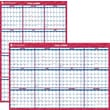 "2014 AT-A-GLANCE® Vertical/Horizontal Erasable Wall Planner, 32"" x 48"""