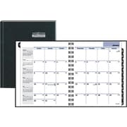 "2014 DayMinder® Hardcover Monthly Planner, 6 7/8"" x 8 3/4"""
