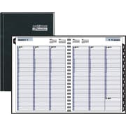 "2014 DayMinder® Premiere Recycled Weekly Appointment Book, 8"" x 11"""