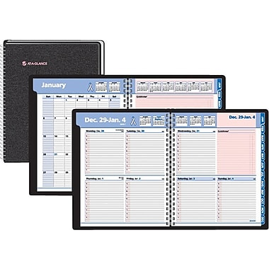 "2014 AT-A-GLANCE® QuickNotes® Special Edition Weekly/Monthly Appointment Book, 8"" x 9 7/8"""