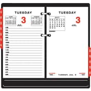 2013 AT-A-GLANCE® Daily Desk Two-Color Calendar Refill, 3-1/2 x 6