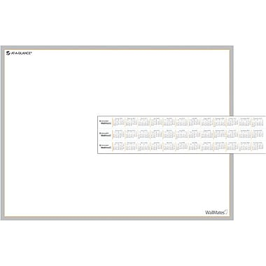 AT-A-GLANCE® WallMates™ Self-Adhesive Dry-Erase Writing Surface, 24in. x 18in.