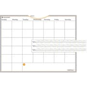 "AT-A-GLANCE® WallMates™ Self-Adhesive Dry-Erase Monthly Planning Surface, 24"" x 18"""