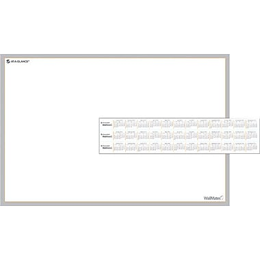 AT-A-GLANCE® WallMates™ Self-Adhesive Dry-Erase Writing Surface, 18in. x 12in.