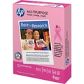 HP Multipurpose Pink Ribbon Paper, 8 1/2in. x 11in., Ream, White