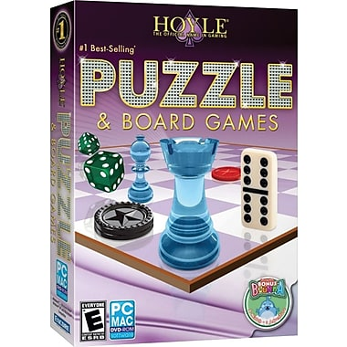 HOYLE Puzzle & Board Games 2011 PC Game [Boxed]
