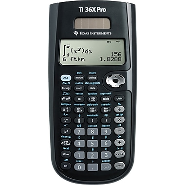 Texas Instruments® TI-36X Pro Scientific Calculator