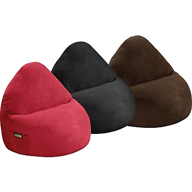 Elite Sitsational Faux Suede 1 Seater Bean Bag Lounger Chairs