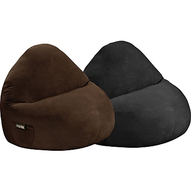 Elite Sitsational Faux Suede 2 Seater Bean Bag Lounger Chair