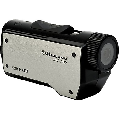 Midland XTC-200VP3 Wearable 720p HD Camcorder, Silver