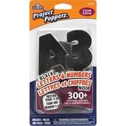 Elmer's® - Project Popperz – lettres et chiffres noirs