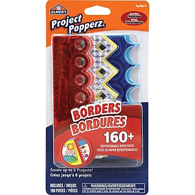 Elmer's® Project Popperz, Repositionable Paper Borders