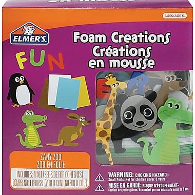 Elmer's® Zoo Animal Foam Stickers, 4.3 oz