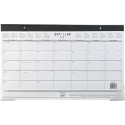 2014 Staples® Compact Monthly Desk Pad, 17 3/4 x 10 7/8