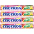 Mentos Chewy Fruit Tablets, 15 Packs/Box