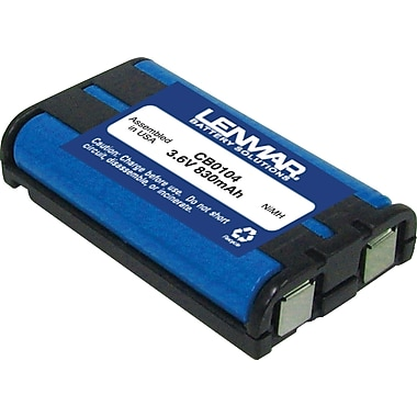 Lenmar® Replacement Battery For Panasonic HHR-P104 (CB0104)