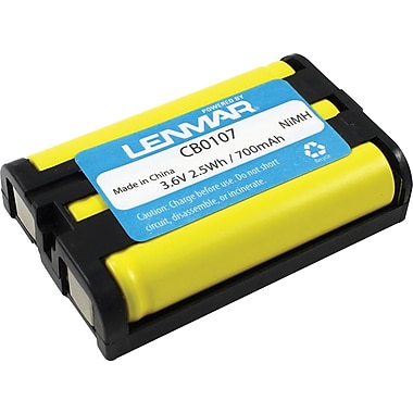 Lenmar® Replacement Battery for Panasonic KX-TG6023M and KX-TG6052B Cordless Phones (CB0107)