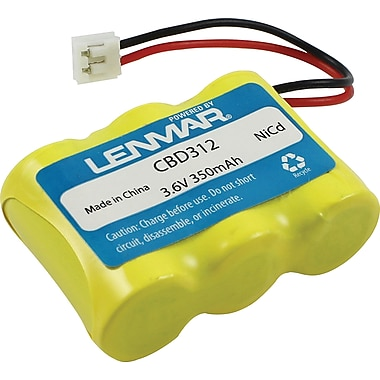 Lenmar® Replacement Battery For Bell South, AT&T, GE, Sharp, and Pac Bell Cordless Phones (CBD312)