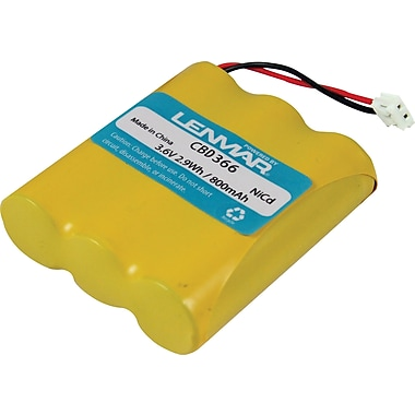 Lenmar® Replacement Battery For 3.6V Multifit (CBD366)