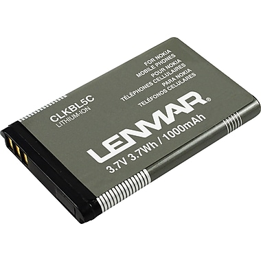 Lenmar Replacement Battery for Nokia 1100 Series, 1600 Series, 3600 Series Cellular Phones