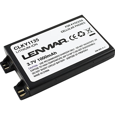 Lenmar Replacement Battery for Kyocera 1135, 1155, 2027, 2035 Cellular Phones