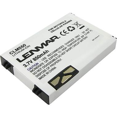 Lenmar Replacement Battery for Motorola C250, C260, C266, C300, C333, C350 Cellular Phones
