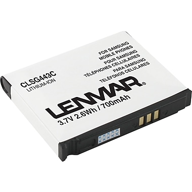Lenmar Replacement Battery for Samsung Behold, Gravity 2, Impression, Instinct Cellular Phones