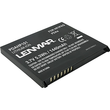 Lenmar® Replacement Battery For HP/iPAQ RX3100/3400/3700 Series (PDAHP101)