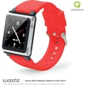 iWatchz Q Series Watchband for iPod Nano, Red