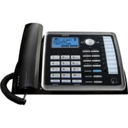 RCA 25214 2-Line Corded Telephone with Full Duplex Speakerphone
