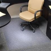 Staples® Plush-Carpet Chairmat, Rectangular, Multiple Sizes