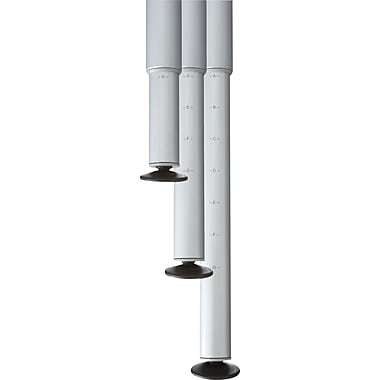 Iceberg OfficeWorks Teaming Table Adjustable Legs, Set/4