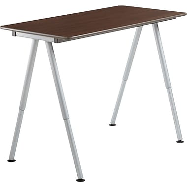 Iceberg OfficeWorks Teaming Table 48x24 Top Only, Walnut