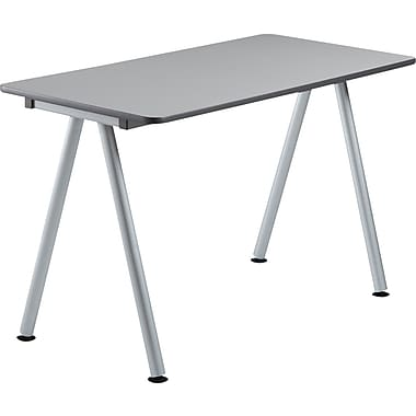 Iceberg OfficeWorks Teaming Table 48x24 Top Only, Gray