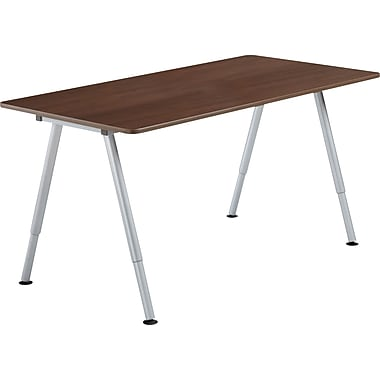 Iceberg OfficeWorks Teaming Table 60x30 Top Only, Walnut
