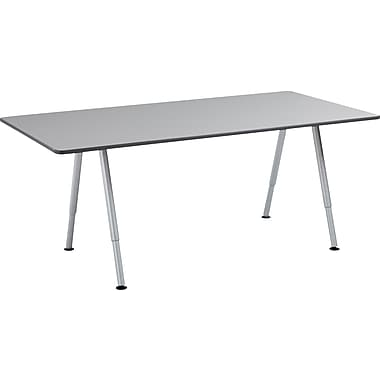 Iceberg OfficeWorks Teaming Table 72x36 Top Only, Gray