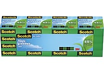 Scotch® Magic™ Greener Tape 812 Value Pack, 3/4' x 16 3/4 yds, 1' Core, 16/Pack