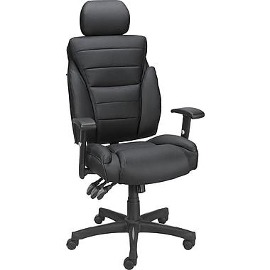 Staples® High Back Bonded Task Chair, Black