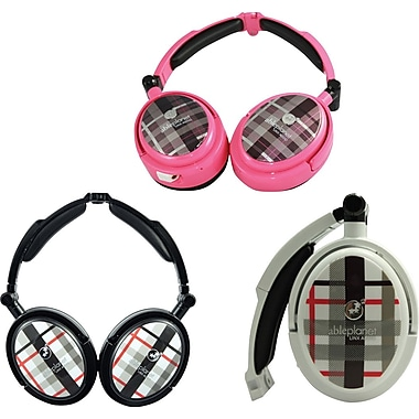 Able Planet XNC230 True Fidelity® Foldable Active Noise Canceling Headphones w/ Linx Audio®