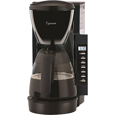 Capresso CM200 10-Cup Programmable Coffee Maker, Black