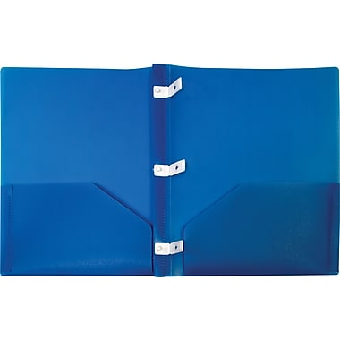 Storex® Recycled Eco Report Covers, Blue