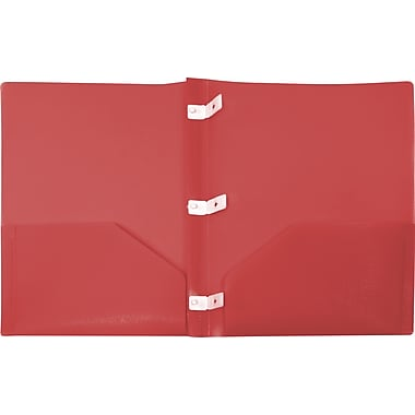 Storex Recycled Eco Report Covers, Red
