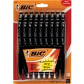 Bic BU3 Retractable Ballpoint Pens, Medium 1.0mm, Black, 18/Pack
