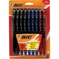 Bic BU3 Retractable Ballpoint Pens, Medium 1.0mm, Assorted, 18/Pack