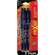 Pilot FriXion® Erasable Gel-Ink Pens, Fine Point, Blue Ink, 3/Pack