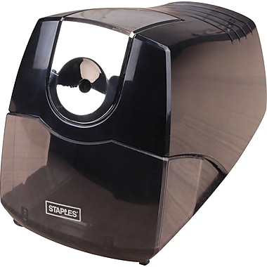 Staples® Power Extreme Electric Pencil Sharpener, Heavy-Duty, Black